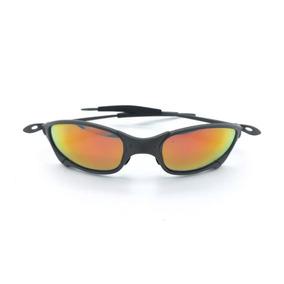 Lente Vermelha Retangular Oculos Sol - Óculos De Sol Oakley Juliet ... 06a1d2e523