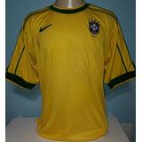 06e790ea82 Rara Camisa Seleção Brasileira Cbd Nike Copa 58 Tam.g Brasil ...
