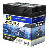 Bateria Moto Moura Original Honda Titan150 Xre300 Bros150