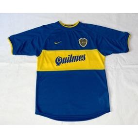 Boca Juniors Titular 2000 Retro Reedicion Triple Corona