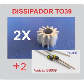 Kit Dissipador To-39 To39 + Diodo Varicap Bb809 - Cr 12,00