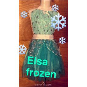 Disfraz Frozen Vestido Tutu Para Niña b6c6313490e