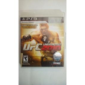 Jogo Ufc Undisputed 2010 Playstation 3 Seminovo