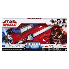 Ofer Sable Espada Star Wars Bladebuilders 2 En 1 Jedi Sith *