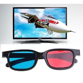 21827e251e684 Óculos 3d Anaglifo De Papel Vermelho Azul
