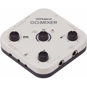 Roland Go Mixer Áudio Gravação Vídeo Smartphone Full