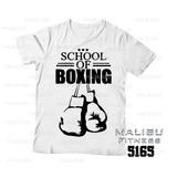 Camiseta Masculina Escola De Boxe Academia Maromba Ref5165 d8ab5eee9cb