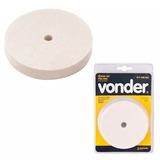 Roda De Feltro Para Polimento 100 Mm Vonder 3599000101