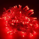 Luces Led Navidad 100 8 Efectos Rgb Blanco Frio Calido