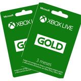 Xbox Live Gold 3 Meses Codigo