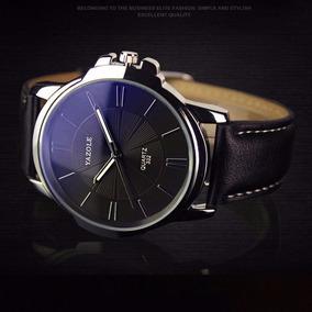 e7df5b57795 Relogios Masculinos De Luxo Barato Bonito Elegante Yazole N6