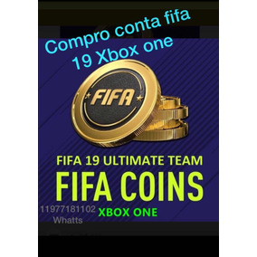 Compro Conta Com Mercado Liberado Fifa19 Xbox One Coins
