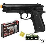 Pistola Airsoft Taurus Pt92 6mm Spring Cybergun - Promoção