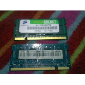 Memorias Ran Para Laptop Ddr2 De 1 Gb