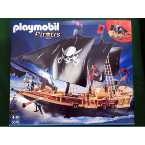 Playmobil 6678 Navio Pirata - Pirates Geobra
