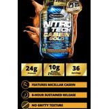 Caseína Nitro Tech Casein Gold - Muscle Tech - Importada