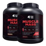 Kit 2x Muscle Mass Hipercalórico Espartanos - Total 6kg