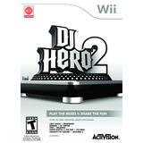 Wii Fisico Dj Hero 2 - Solo Juego - Nuevo