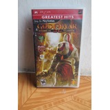 God Of War Chains Of Olympus [greates Hits) Psp