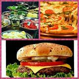 Tenedor Libre De Pizza A La Parrilla +hamburguesas