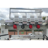 Máquina Bordadora 4 Cabezas Industrial