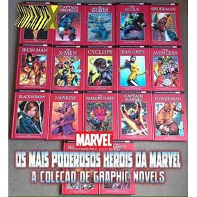 Coleção Vermelha Salvat - Marvel - R$23,90