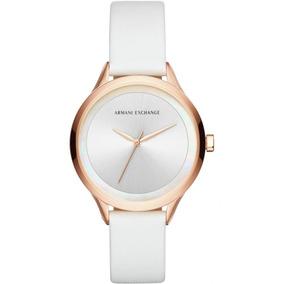 e2fe1a36c513 Reloj Armani Exchange Blanco Caucho - Reloj para Mujer en Mercado ...