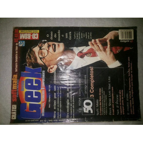 Revista Geek Ano 1 Numero 1 Sem Cd Bill Gates Raridade