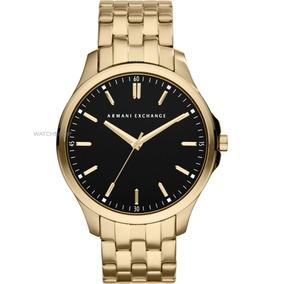 c0313e14bff Relogio Ax Masculino Dourado - Relógios De Pulso no Mercado Livre Brasil