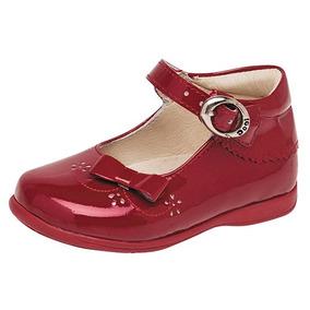 Zapatos Dtt Niñas Escolar Charol Vestir 11856 Dogi Rojo Piel UqUwHBg