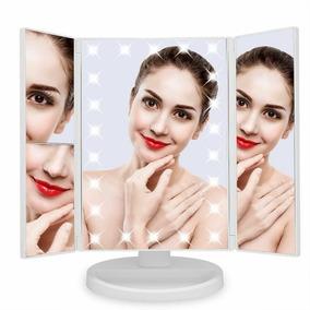 Espejo De Maquillaje Profesional - Luz Led - Táctil - 3x-2x