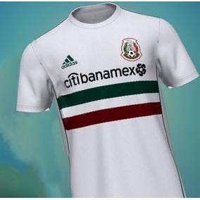 Playera adidas México Rusia 2018 Citibanamex Original Blanca 95d74e1a8991d