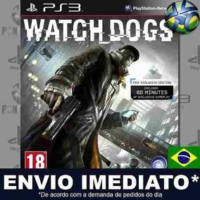 Watch Dogs Ps3 Mídia Digital Psn Jogo Dublado Pt Br Promoção