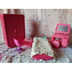 Juego De Cuarto Bebe De Barbie Juegos Y Juguetes En Mercado Libre