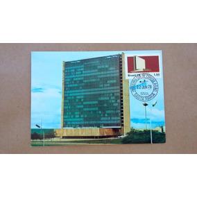 V-8586 - Cartao Postal Inauguracao Do Edificio Sede Da Ect