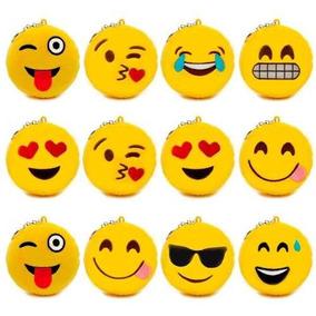 Chaveiro Pompom Emotion Whatsapp De Pelucia