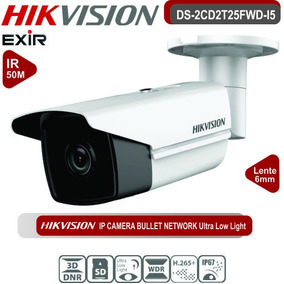 Camera Ip Ds-2cd2t25fwd-i5 6mm B 2mp 50m Hikvision