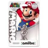 Nuevo, Amiibo Mario Silver Plateado Nintendo 3ds, Wii U
