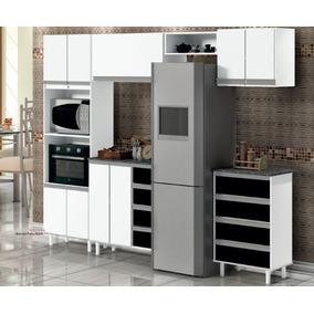 Kit Cozinha Completa Com Espaço Amplo Dentro Promoção