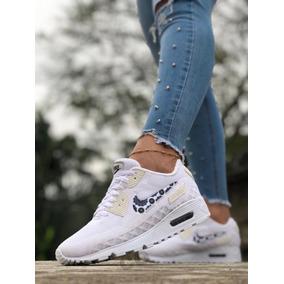 343991a083 Tenis Zapatillas Nike Air Max 90 Para Mujer + Envío Gratis