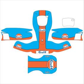 Adesivos Kart - Gulf Clássico Réplica