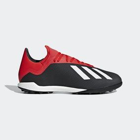 94817c50ee Chuteira Adida Vermelho Preto - Chuteiras Adidas de Society para ...