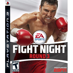 Fight Night Round 3 Ps3 Mídia Física Lacrado
