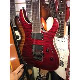 Guitarra Ltd Mh350fr Con Emg Y De Una Sola Pieza