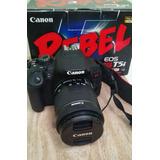 Cámara Canon T5i Con Lente 18-55mm