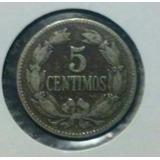 Moneda 5 Céntimos Cobre Niquel 1948