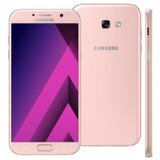 Celular Samsung Galaxy A7 2017 Rosa 32gb,4g Dual Vitrine