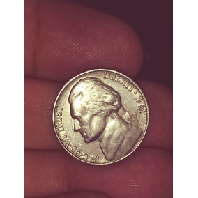 Moeda Usa Five Cents Mbc 1961