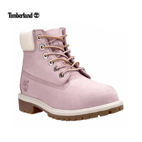 6e33255ae5f Botas Timberland Color Rosa Y Beige