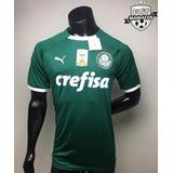 Camisa Puma Palmeiras I 2019 Com Patch Personalizável